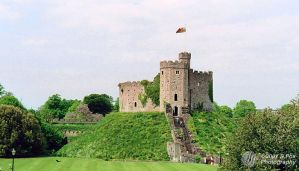 Cardiff Castle by FoxDesigns