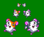 Fun Hamtaro And Bijou Sprites by Pioxys