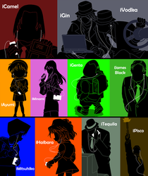 iPods of Detective Conan 8 by Mosflow