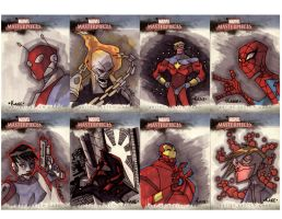 Marvel cards 2 by Kane79