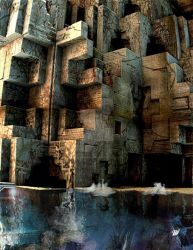 Flooded Ruins by mechmorphosis
