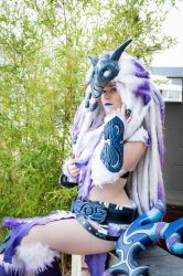 Kindred cosplay by Bahamut95