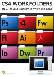 CS4 WORKFOLDER ICONS by LeMarquis