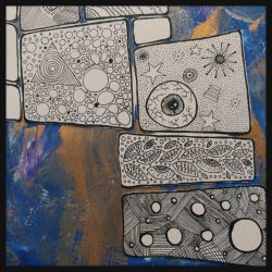 art journal page by bleaknimue