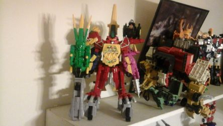 dino charge Ultra zord by megumbreon