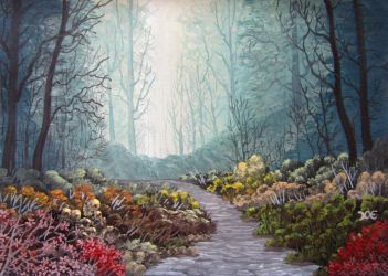 743 Forest Pathway by mengenstrom