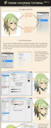 Anime Coloring Tutorial  Part 3 by Marfrey