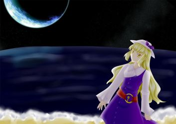 The sea on the moon by Renny1998