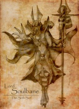 Lord Soulbane, the Seth Serf - Concept by Anpuankhses