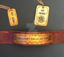 No More - Dr Who Jewelry by Peaceofshine