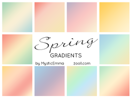 Spring Gradients by MysticEmma