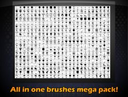 All you need brushes mega pack[Lite] by Viweu