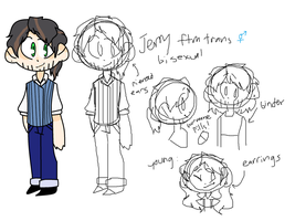 Jerry Ref sheet by TheCatQueen10