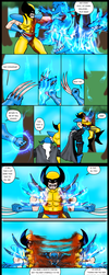 WOLVERINE vs DEMON FUSE page 6-10 by Jesse-the-art-maker