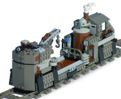 'Utility-Class' Steam Railbarge Mk. LXXI (open) by RRaillery