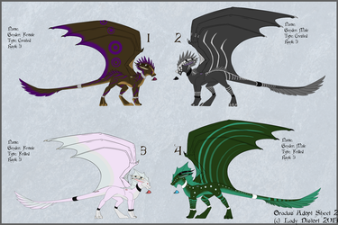 Oraclus Adopts Round 2 by LadyDistort