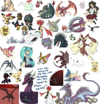 2011-2012 iScribble Dump by HorrorDance