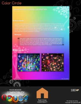 Color Circle - Premium journal skin by CypherVisor