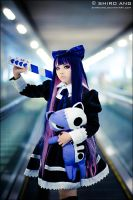 Panty N Stocking with Brief 03 by shiroang