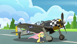 Fluttershy's Fw 190 A-5 by ColorCopyCenter