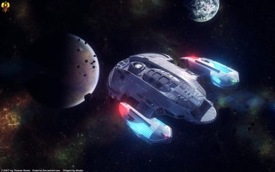 USS Diligent by Euderion
