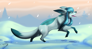 Glaceon by DJ88