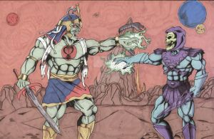 Mumm Ra Vs Skeletor