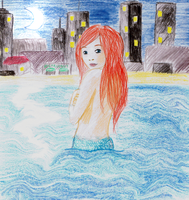 City mermaid by sofoolkate