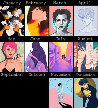2016 - Art Summary by amyenah