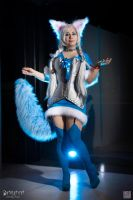 Snow Ahri - Daraya cosplay by Daraya-crafts