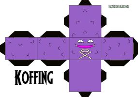 Koffing Cubee