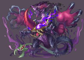 puzzle and dragon fanart by drogod