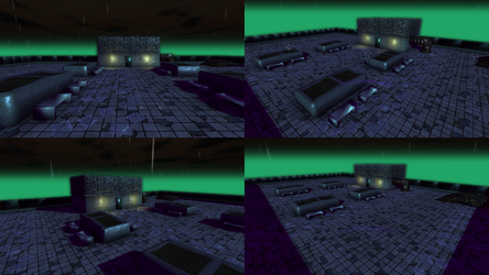 Level Design 3D - Roof Prototype Preview by HeadmasterGD