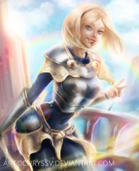 Lux by chryssv
