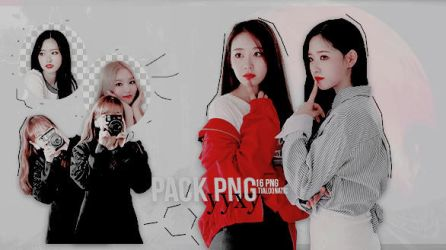 +PACK PNG 2 - (LOONA/YYXY) by TiaLoonatic