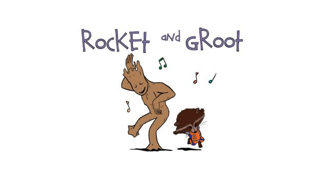 Rocket and Groot by ggareau