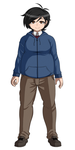 DanganRonpa OC: New Full Body Sprite by wizardotaku