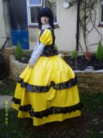 Maids day dress in pvc by puncturegown