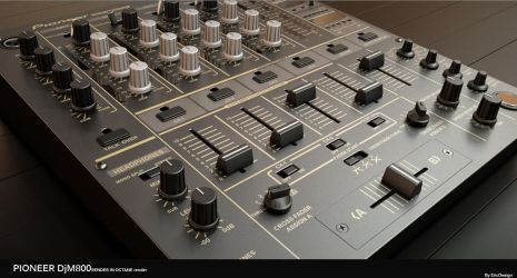 DJM800 octane render c4d by 3DEricDesign