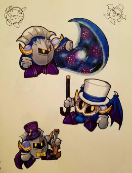 Meta Knight Party  by BatmanPortal14