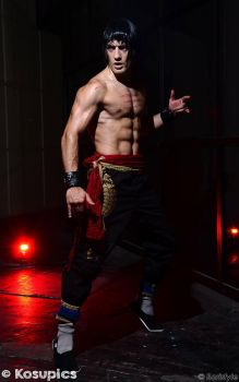 Marshall Law - Tekken 6 Cosplay by Leon Chiro by LeonChiroCosplayArt