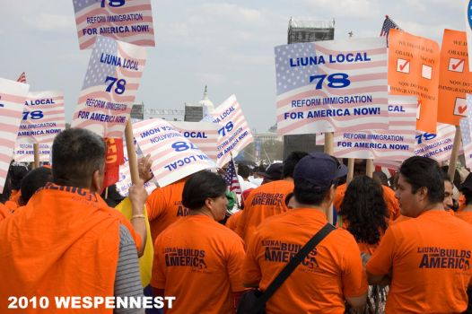Immigration Reform March II by Wespennest