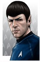 Spock by AshleighPopplewell