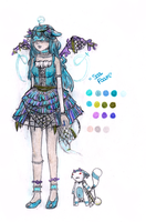 Blind Lace Amaranto MYO: Umi by Mewn-san