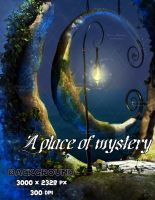 A place of mystery - Background stock by bonbonka
