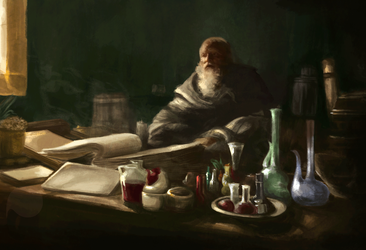 Study from a scene of Game of Thrones by JF-Pouet