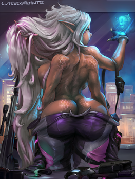 cm#218 mutant girl by cutesexyrobutts