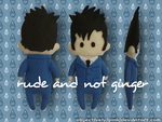 DW: Doctor Who Ten Plushie by objectively-pink