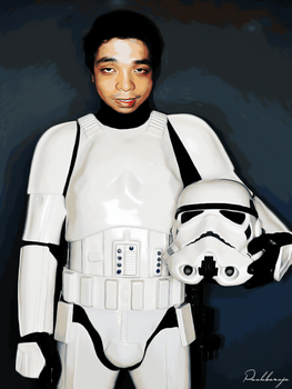 Storm Trooper by PaoloBaroja