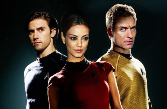 Mila Kunis, Jude Law, Milo Ventimiglia - Star Trek by Nat-Nat177